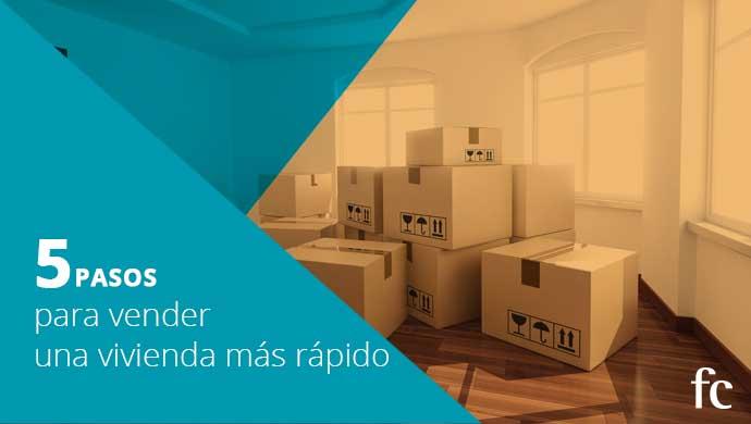 Cinco pasos para vender una vivienda más rápido
